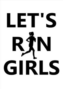 Let's Run Girls Logo at HeadStart Sports Massage Clinic